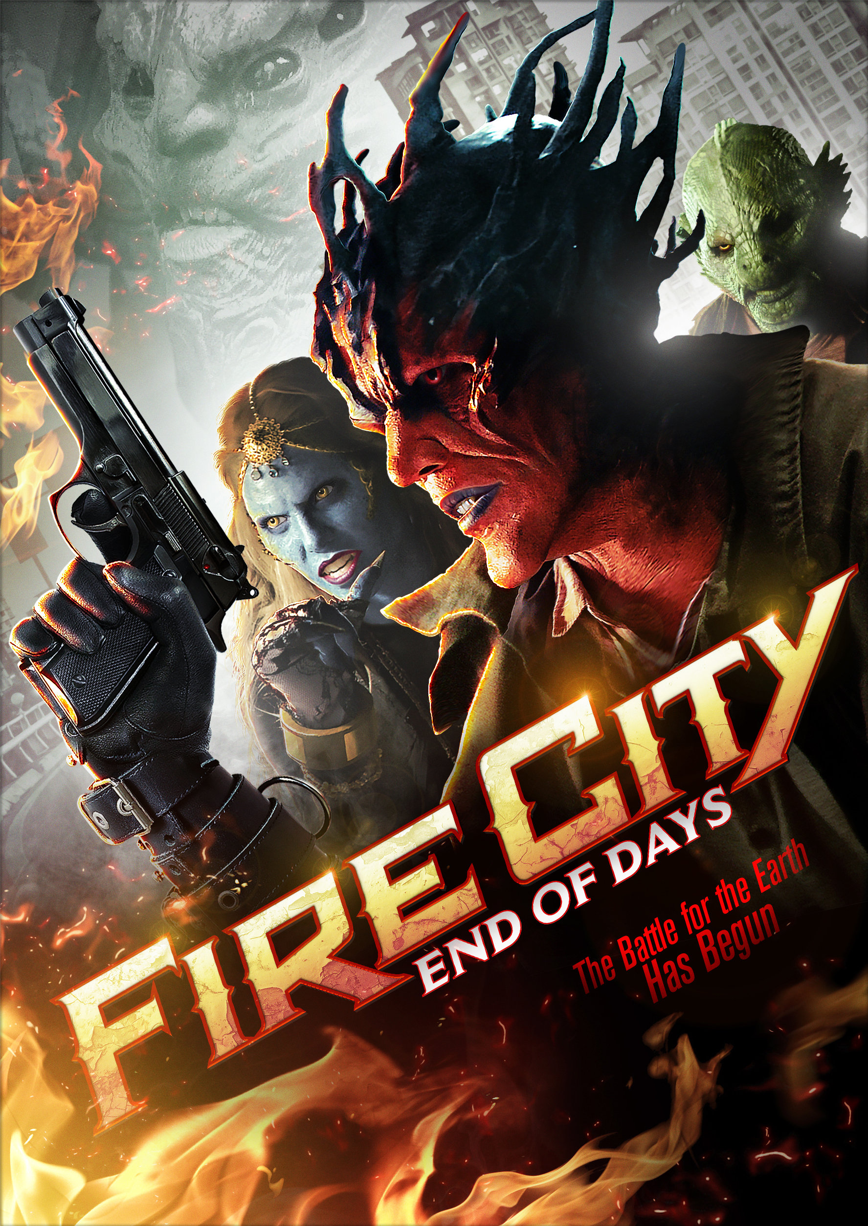 Fire City - Assistant Editor, 2014