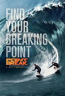 point break - 3D Assistant Editor, 2015