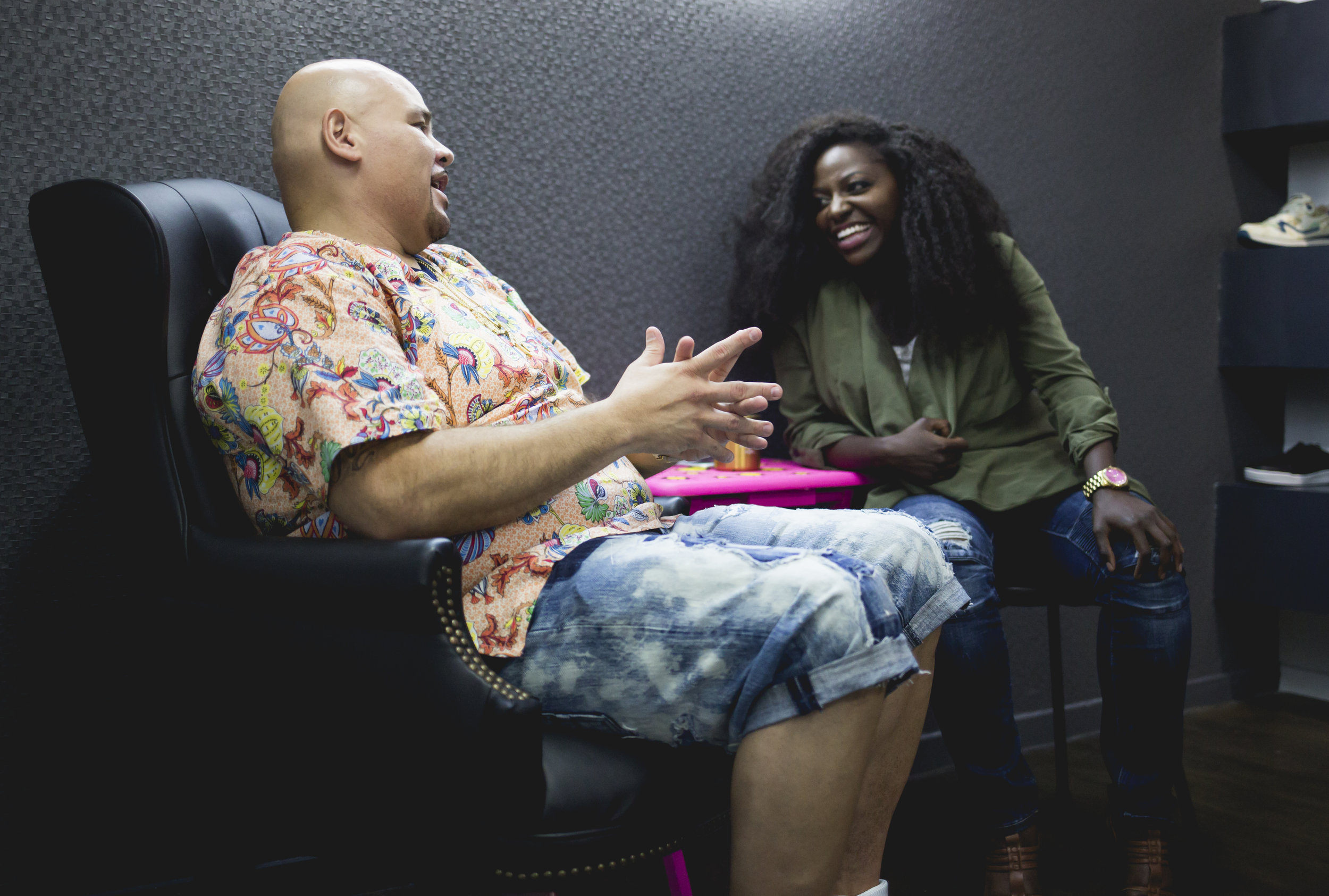 Fat Joe, chats with Melissa Mushaka