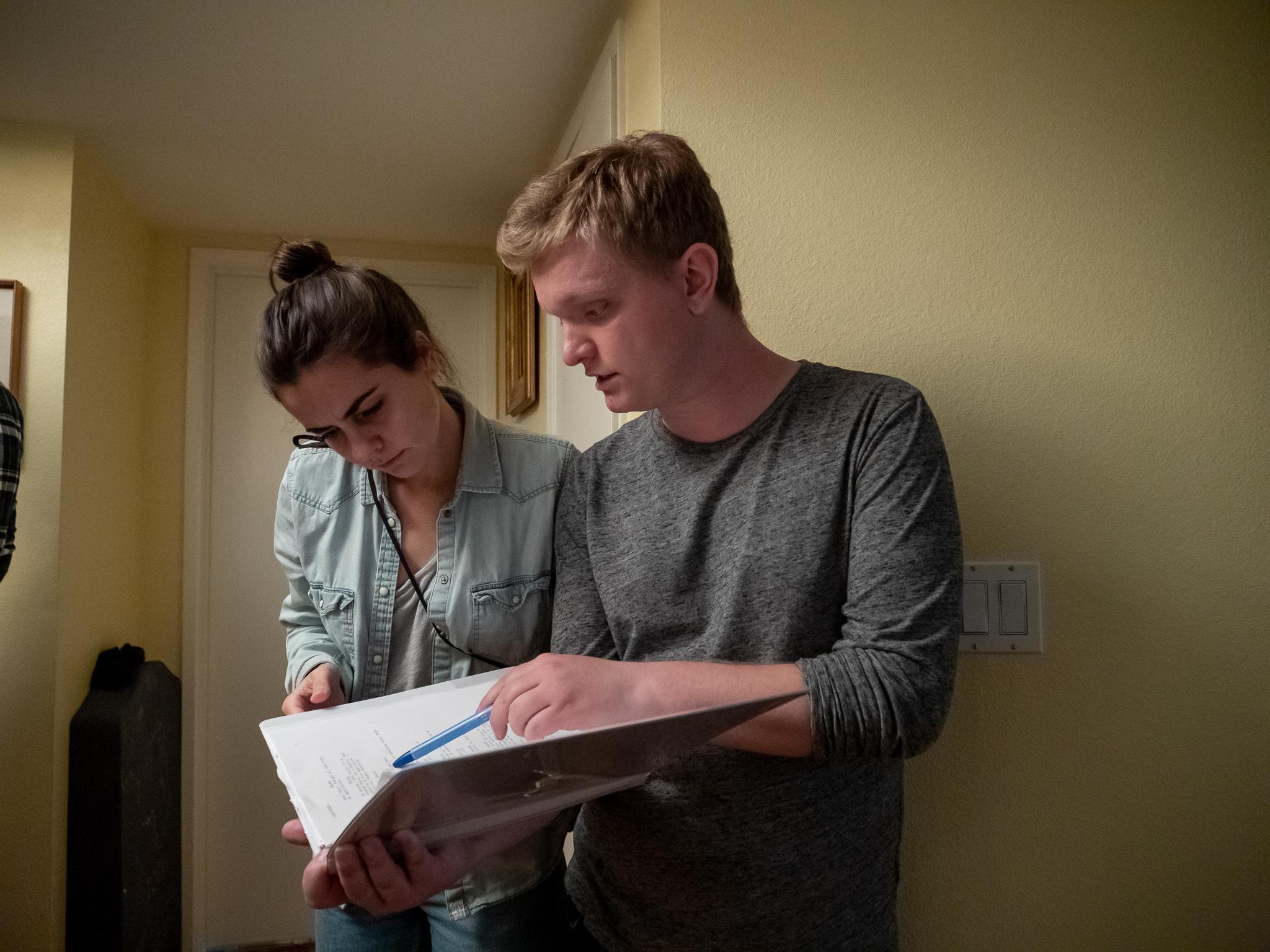 Andressa Cor, Cinematographer & Cameron A. Mitchell, Writer-Director