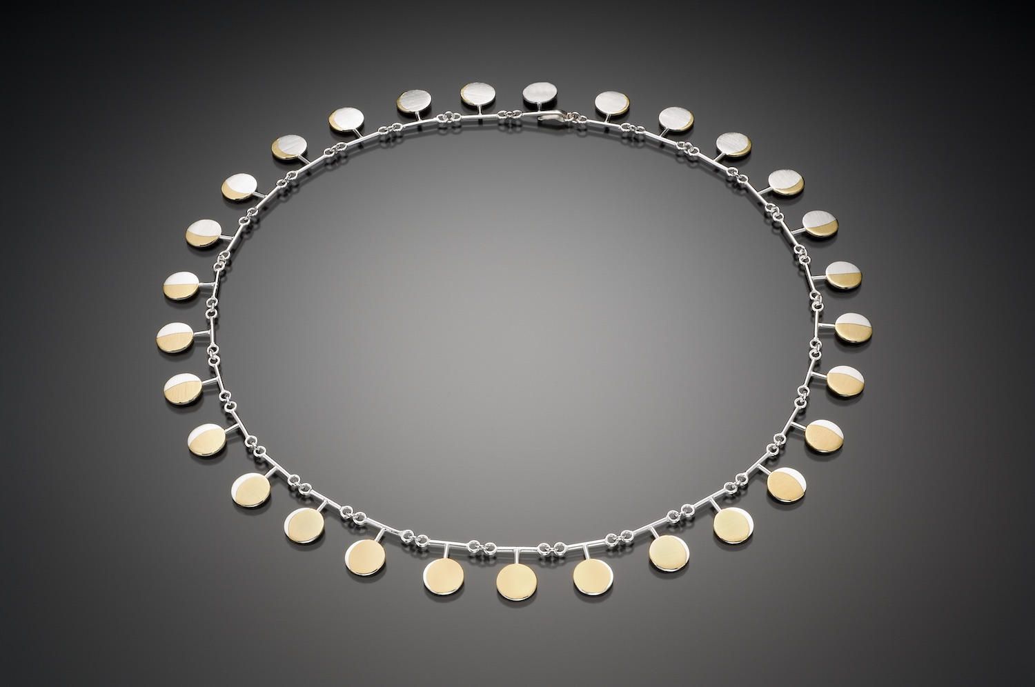Moon T Necklace