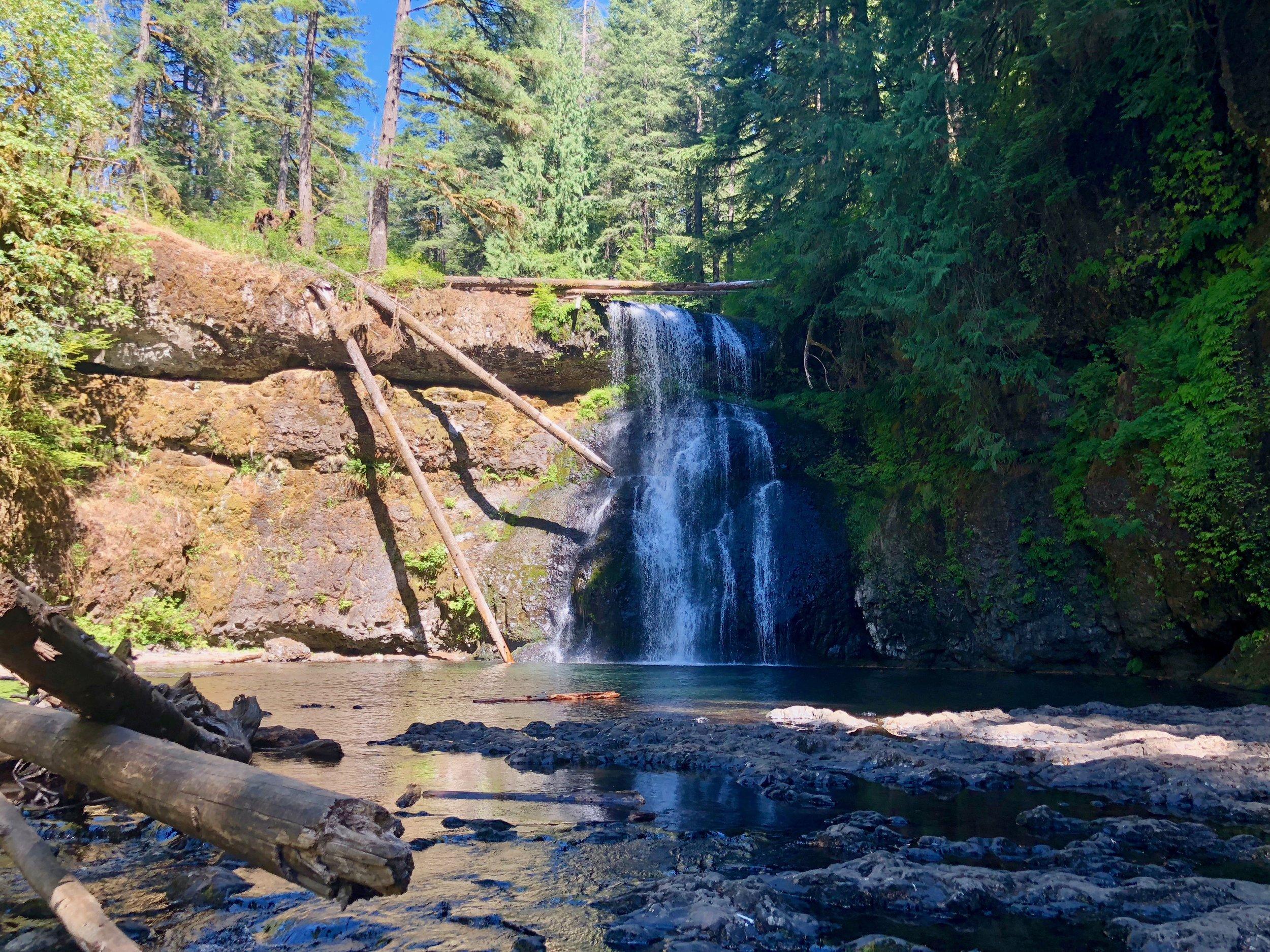 Silver Lake Falls, OR