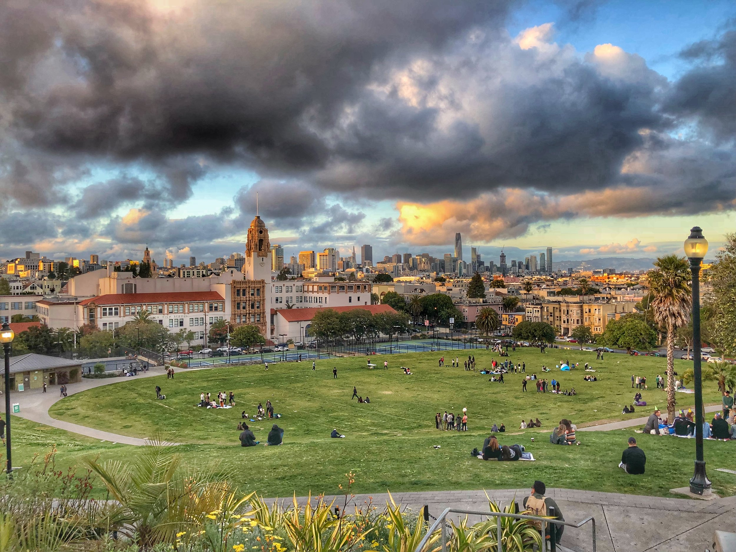 Delores Park, SF