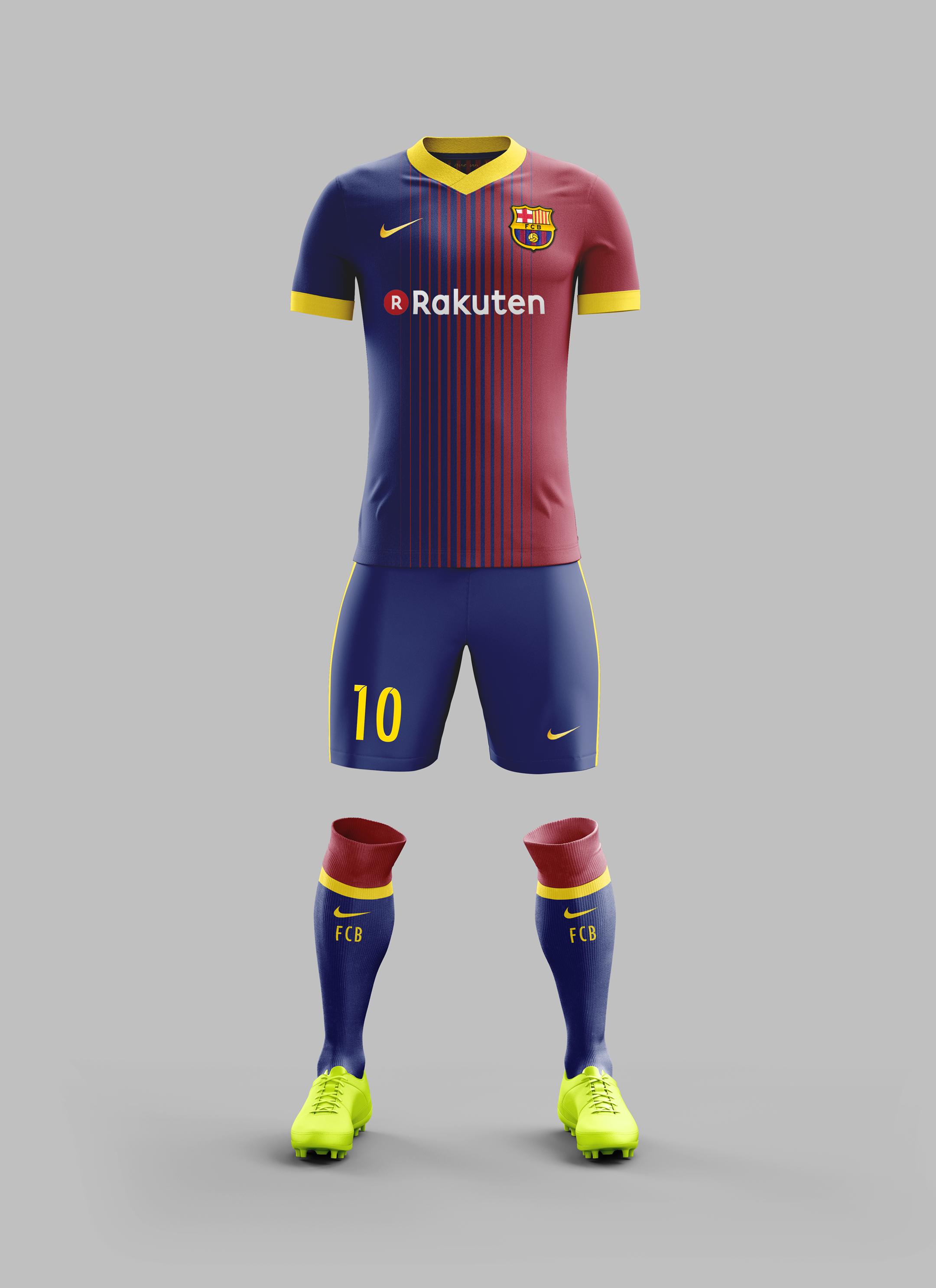 11+ Fc Barcelona Kit