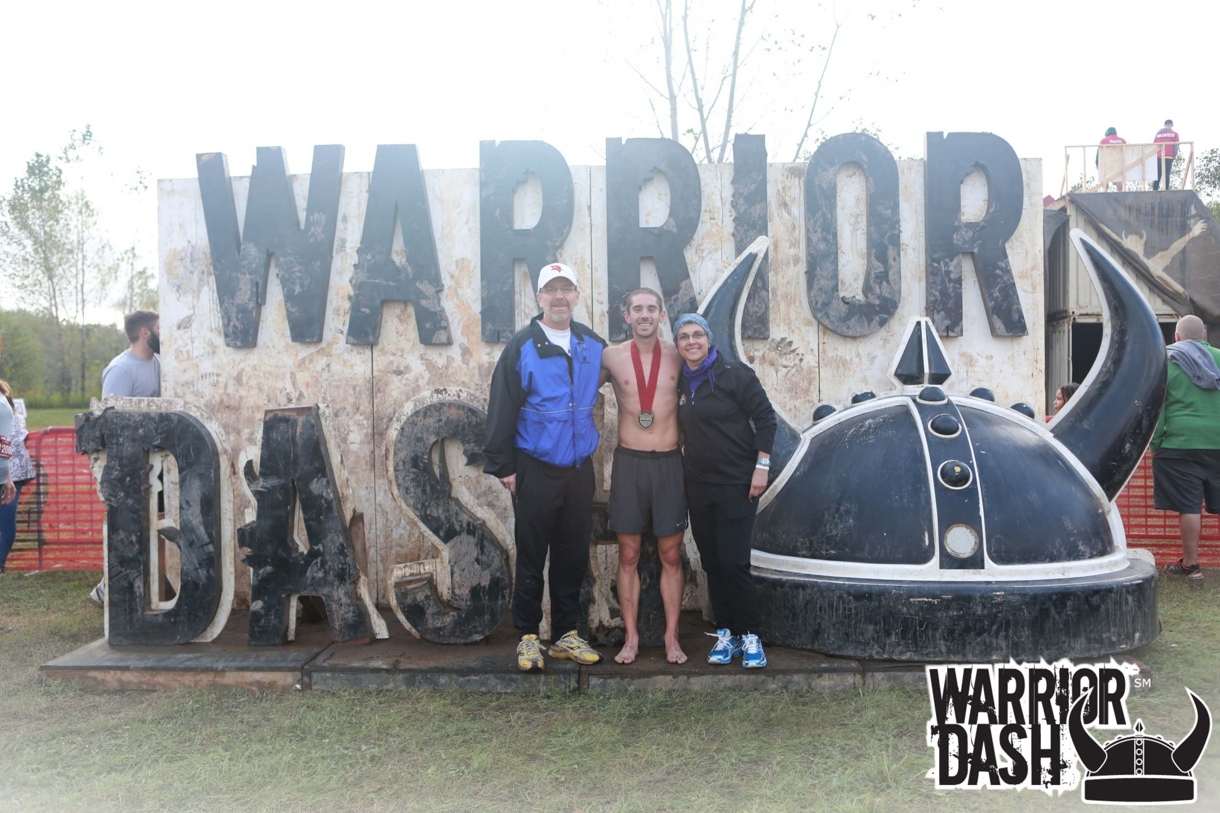 Dad, me, and mom after the race!