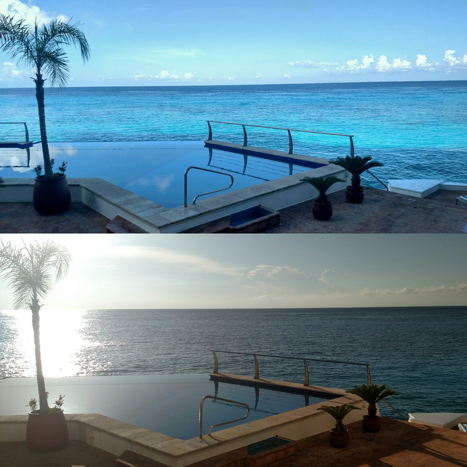Sunrise and sunset. Same place, different time, different feels. Which one do you like better?