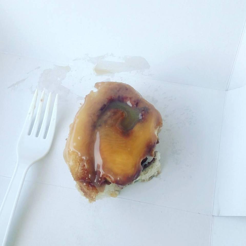 Cinnamon Roll Caramel Frosting, Sweet Magnolias Bakery, Omaha, NE.jpg