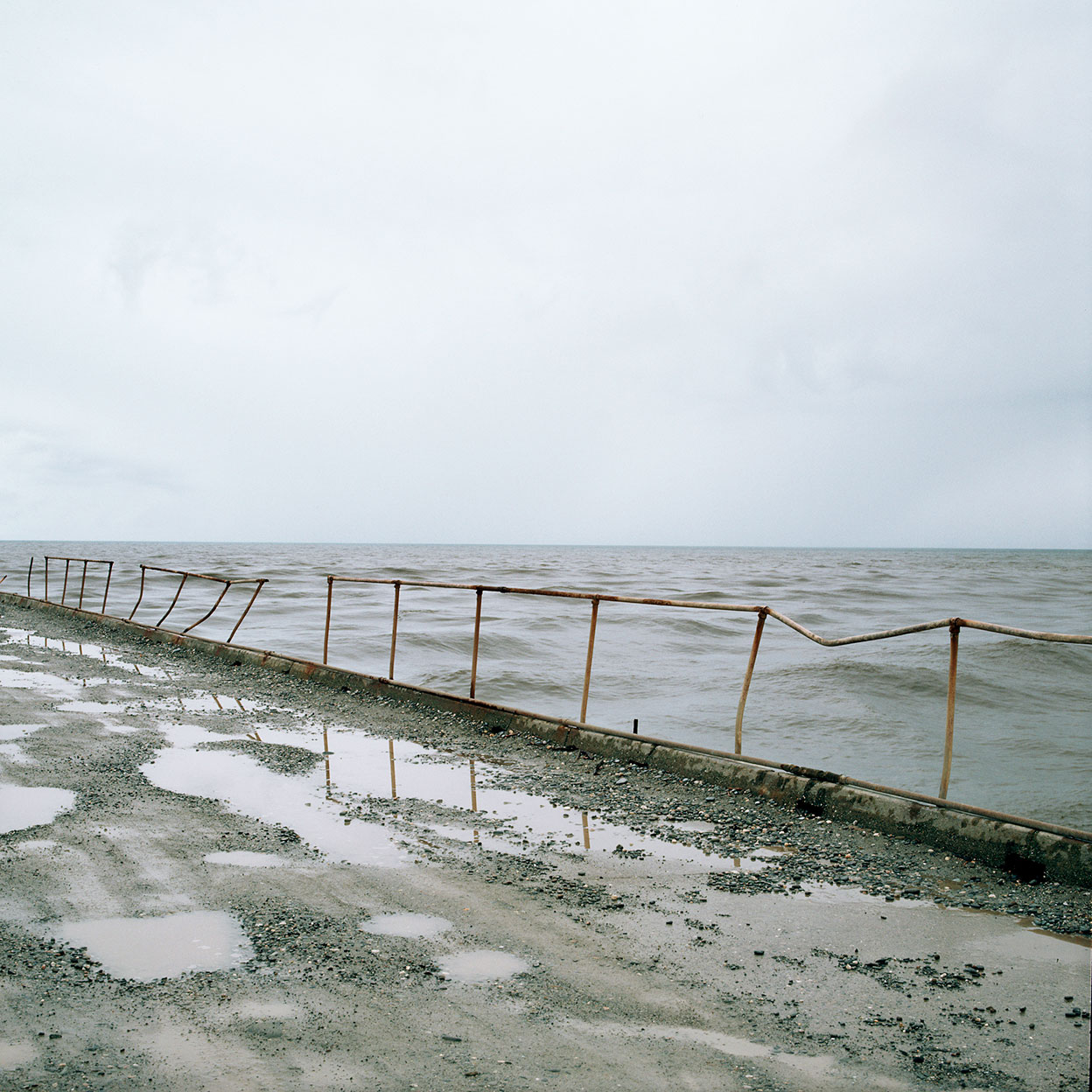 North Mole, Greymouth, 1987