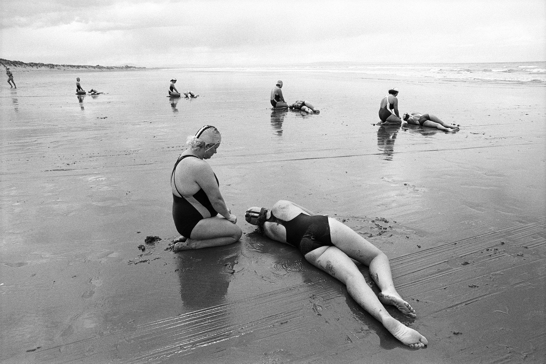 Brighton Beach, Christchurch, 1991