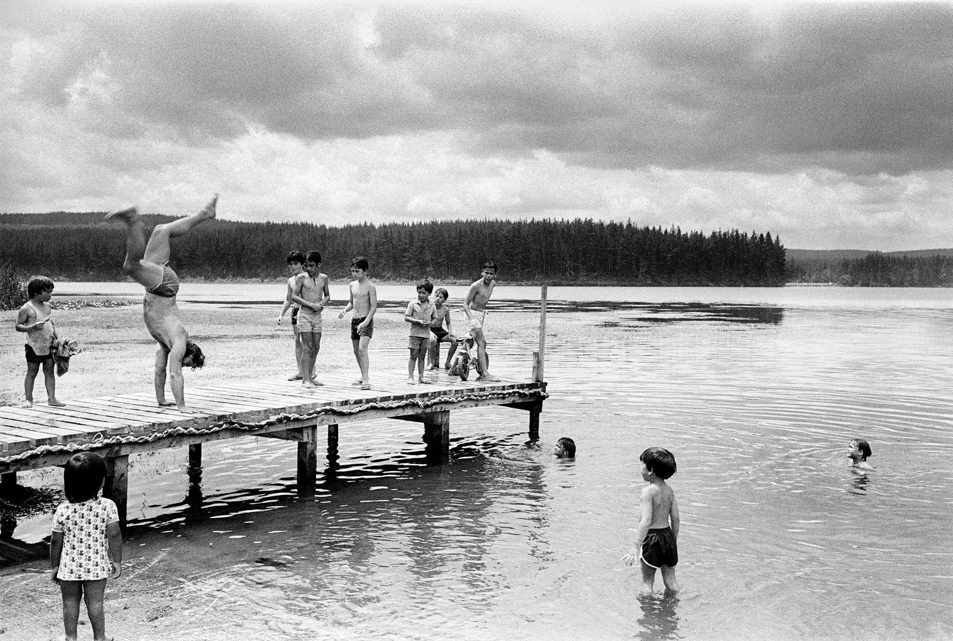 Lake Mangakino, Waikato River, 1985