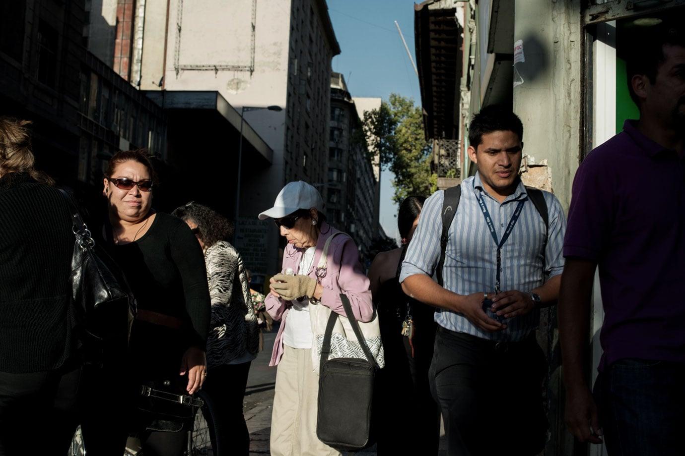 Santiago 08 Antes y Despues Bruce Foster