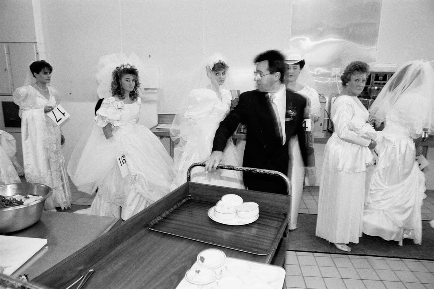 Bride Competition, Christchurch, 1991, Bruce Foster NZ