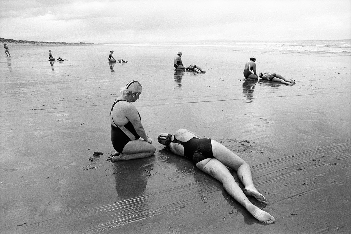 Brighton Beach, Christchurch, 1991, Bruce Foster NZ