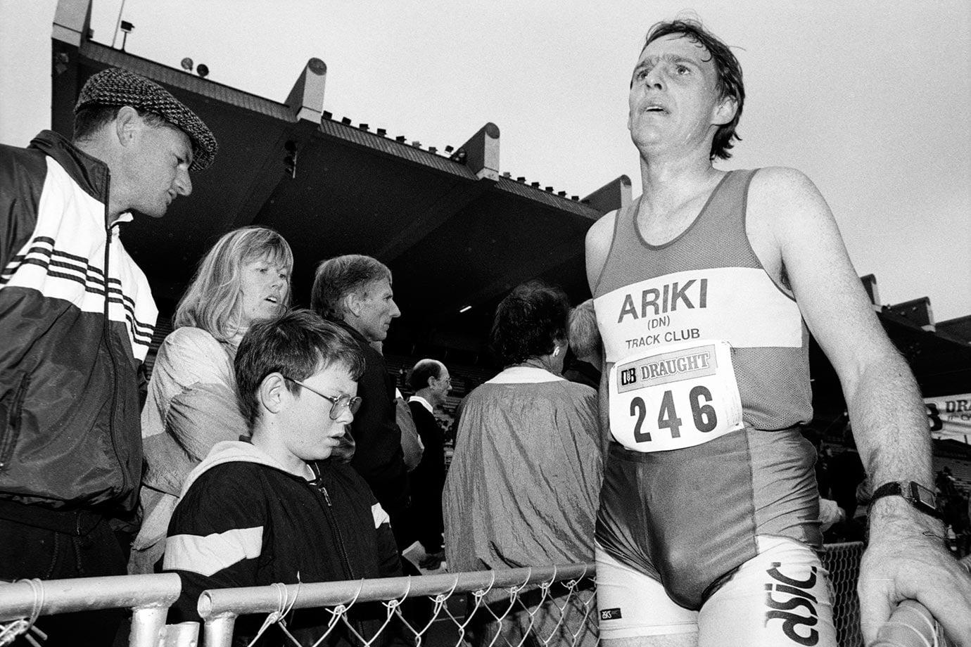 Marathon, Christchurch, 1993, Bruce Foster NZ