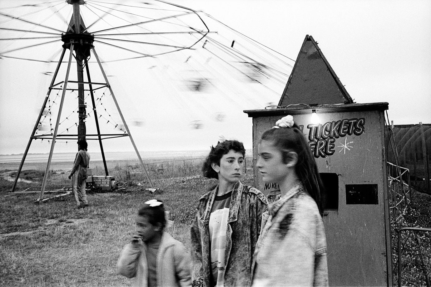 Carnival, Riverton, Southland, 1989, Bruce Foster NZ