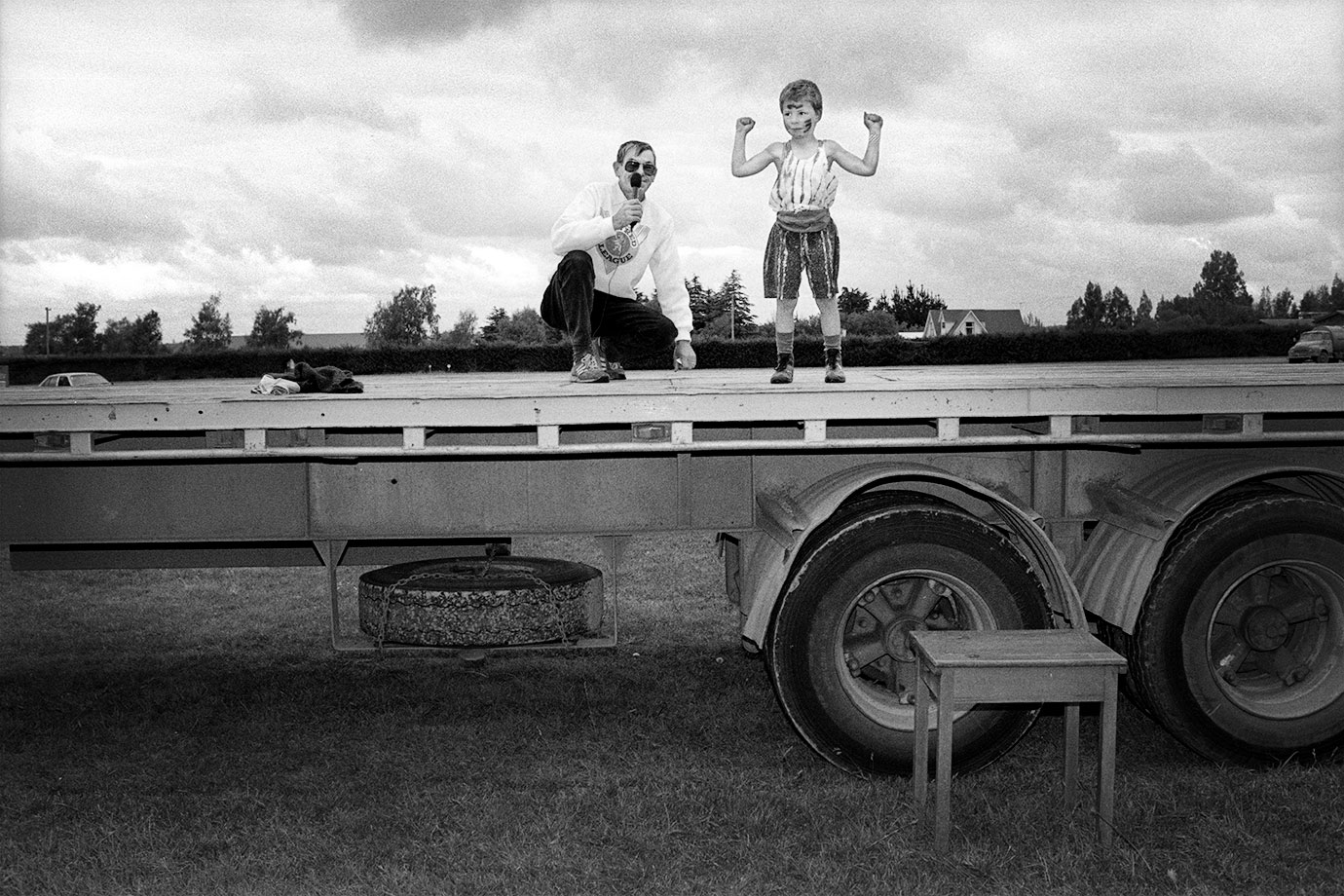 Rural Fair, Canterbury, 1993, Bruce Foster, NZ