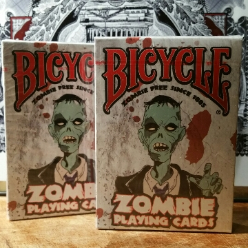 DUAL DECK COMBO Bicycle Zombie Playing Cards 6.00