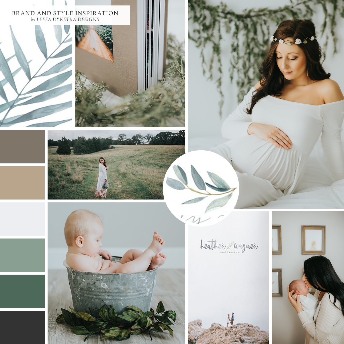 Brand and Style Inspiration for Photography by Mariah by Leesa Dykstra Designs