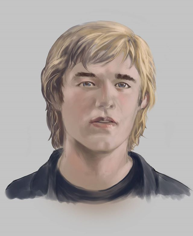 'Quick' face study at the end of today's stream. Ended up being 2.5 hours haha! #haleyjoelosment