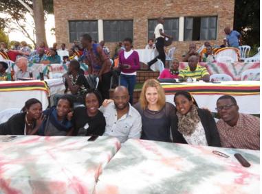 Mazuri Designs fair trade fashion and Girl Up Uganda girls leadership