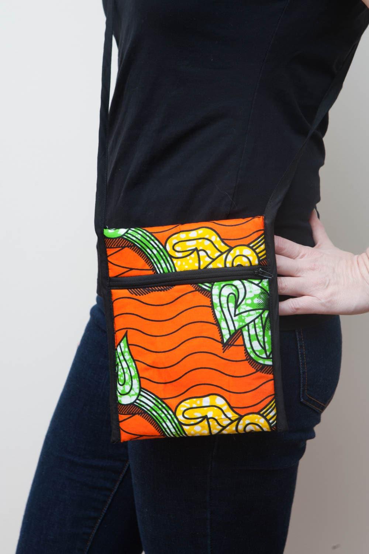 Ethical fashion crossbody bag