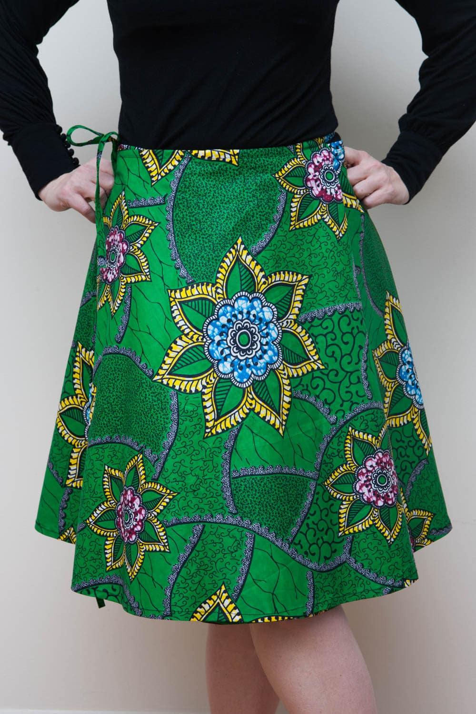 ankara print skirt