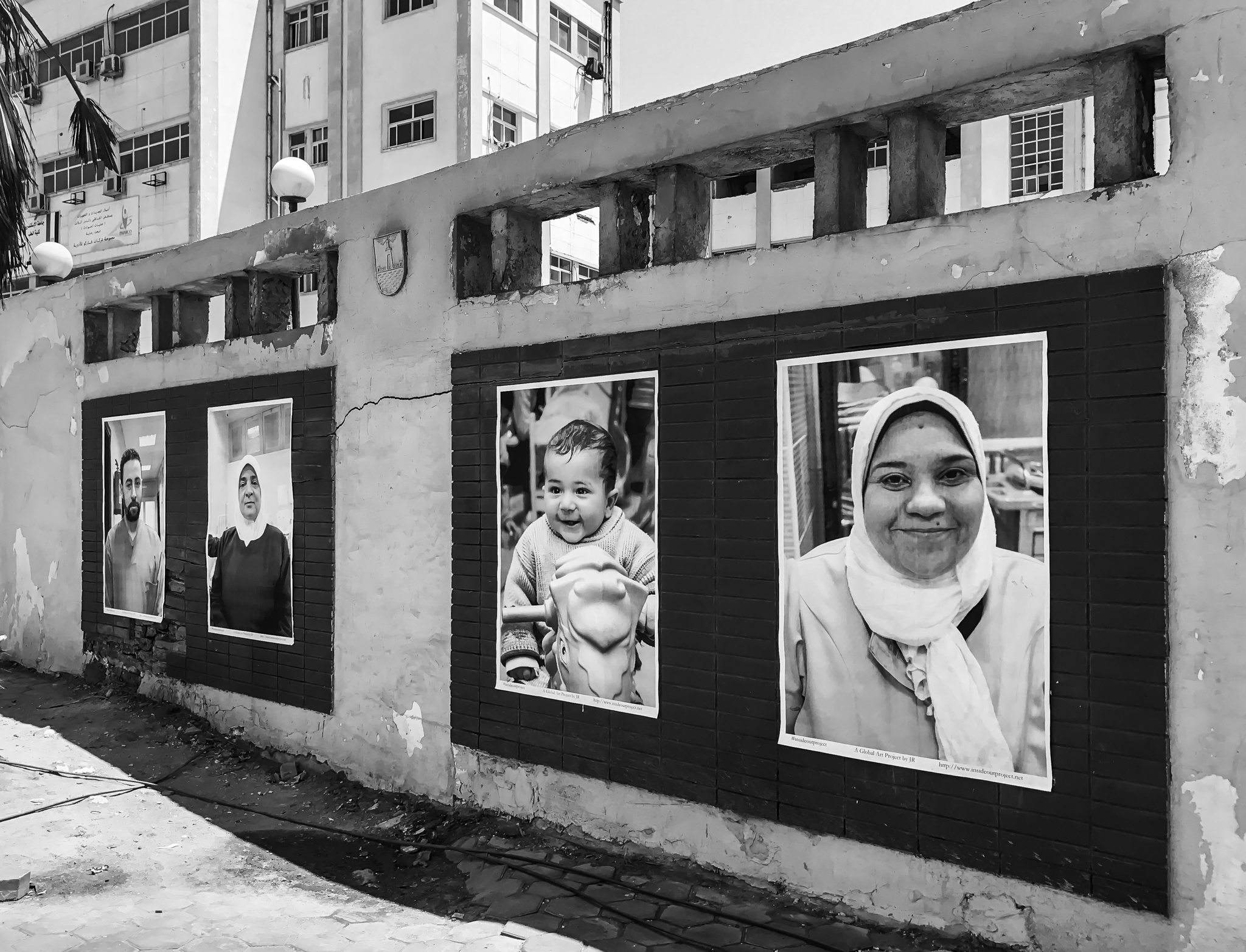 """This project took us six months of preparation, to take the photos of the people, to let them sign the consent form and educate them about the project...we wanted everyone to participate and be part of the change...  """"What we see changes who we are"""".. JR"""