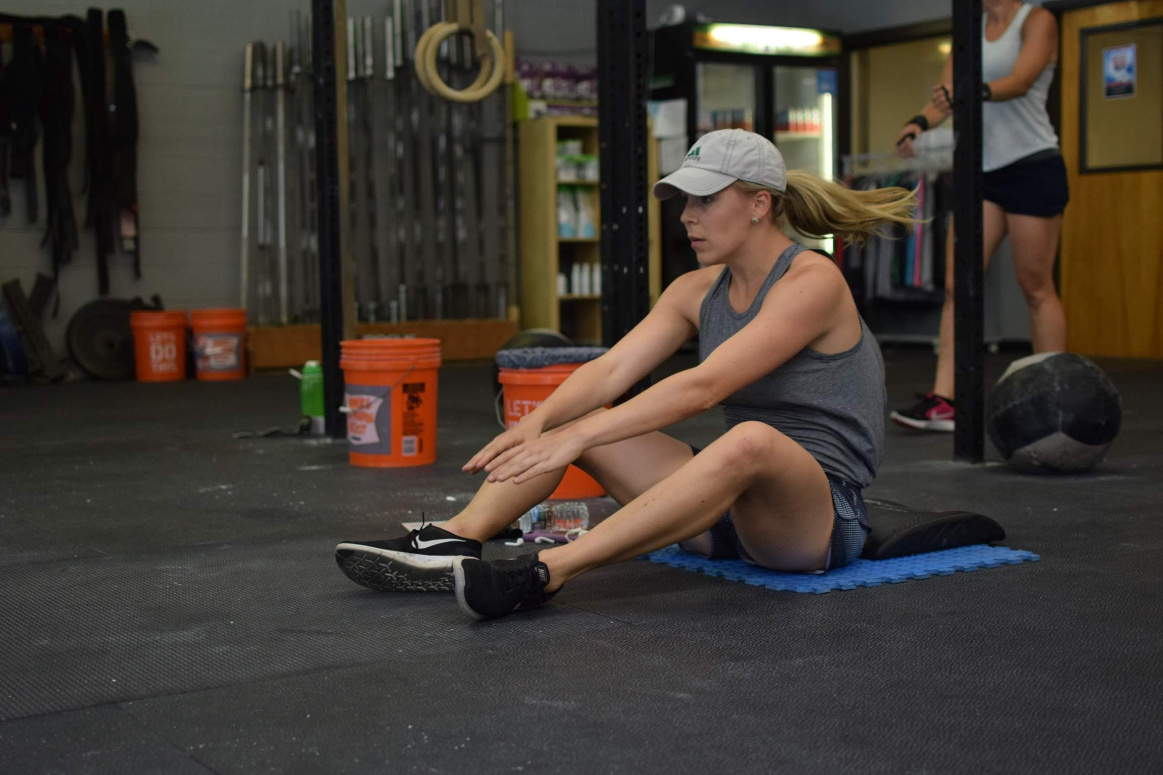 CFDV athlete and busy Mom Katelyn DeLiberty making time for her workouts.