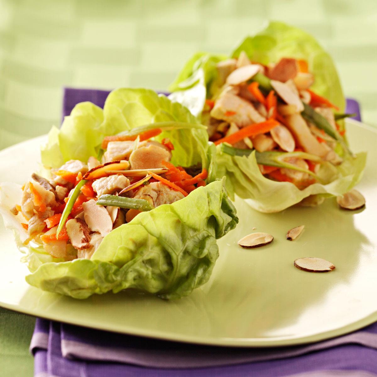 Fiber-Packed Lettuce Wraps - 1 Serving