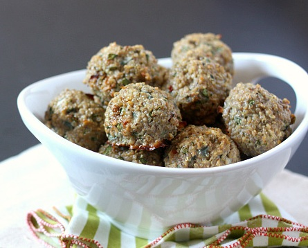 Quinoa Turkey Meatballs - Prep Time - 10 minutesCook Time - 30 minutes24 Servings (1 meatball)