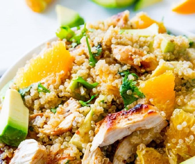 Citrus Chicken & Quinoa Salad - 3 Servings