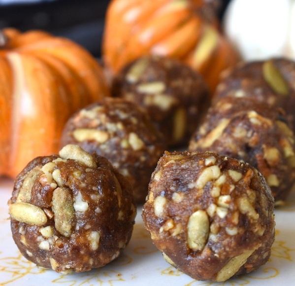 Pumpkin Protein Balls - 4 Servings