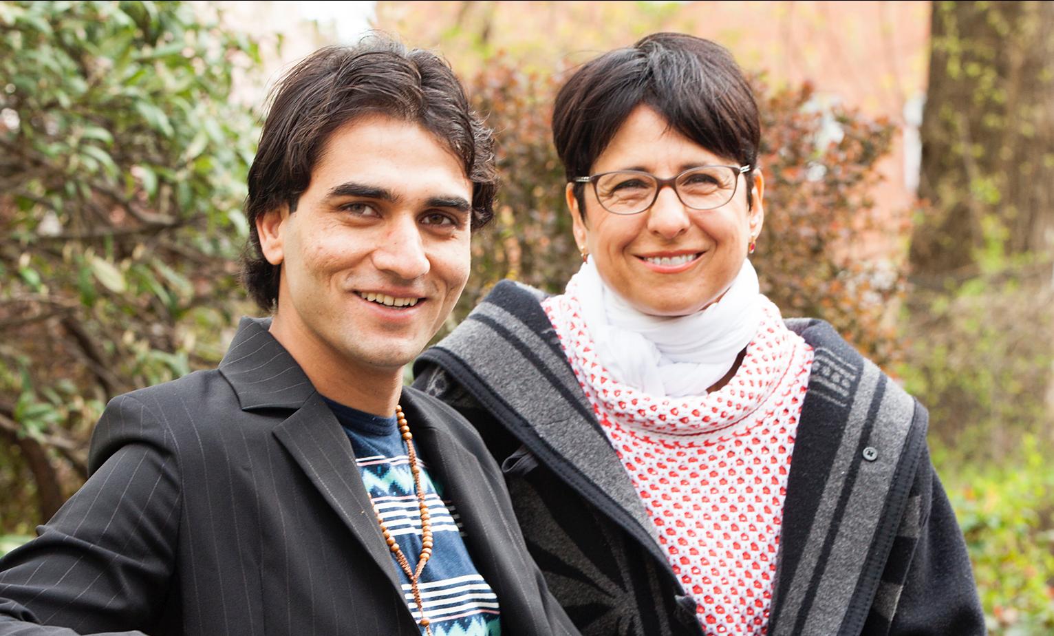 Karin hatte schon viel Erfahrung mit Kinderrechten und Kinderschutz, als sie die Vormundschaft für Shohab beantragte. Nun hilft sie dem jungen Mann aus Afghanistan, ein Leben in Deutschland aufzubauen.