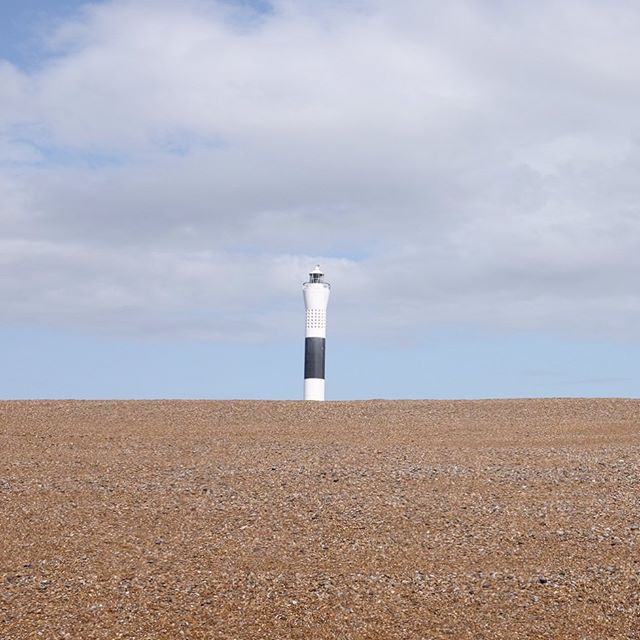 Dungeness Lighthouse looking #AccidentallyWesAnderson