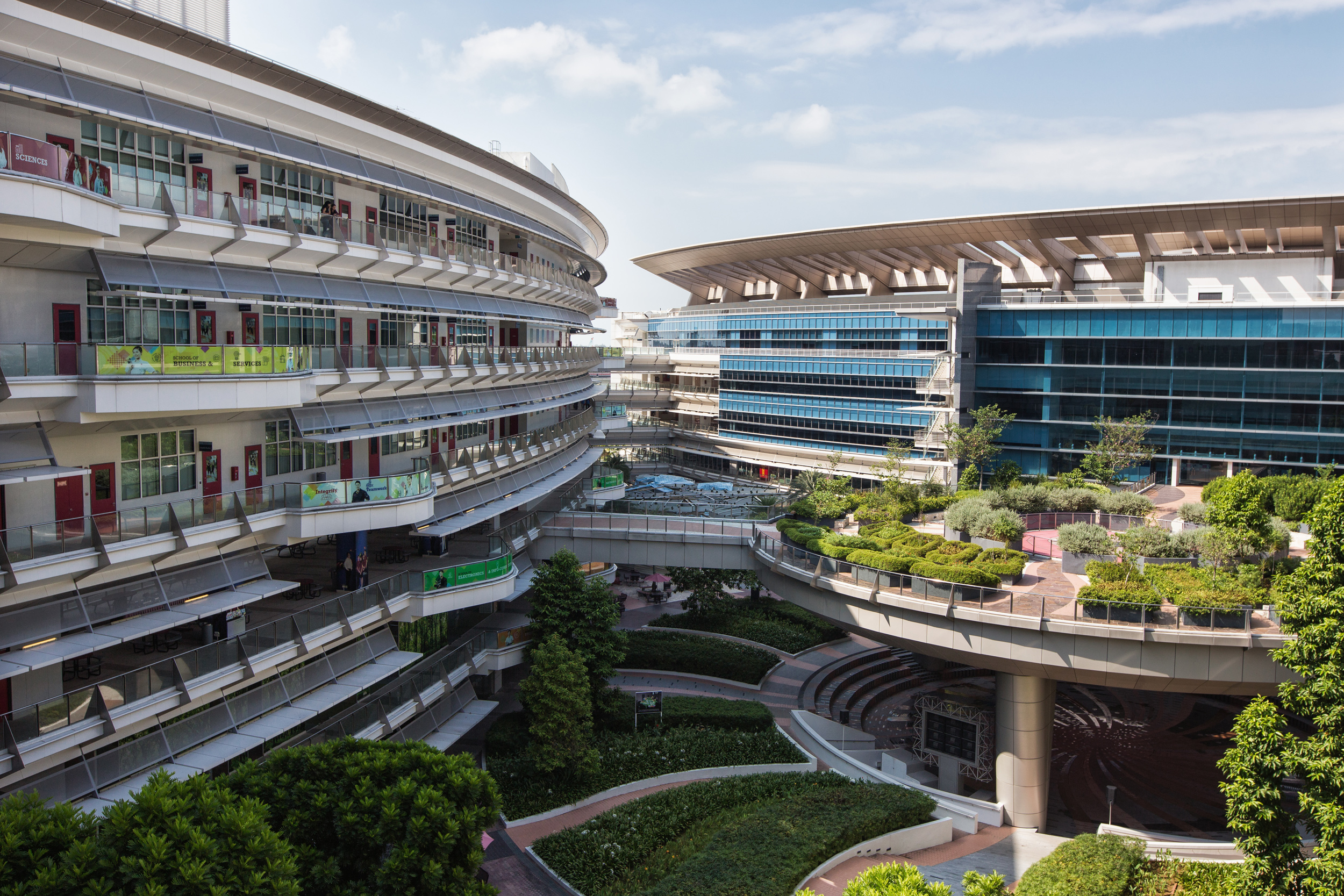 ITE College East in Singapore, where TVET courses are held.