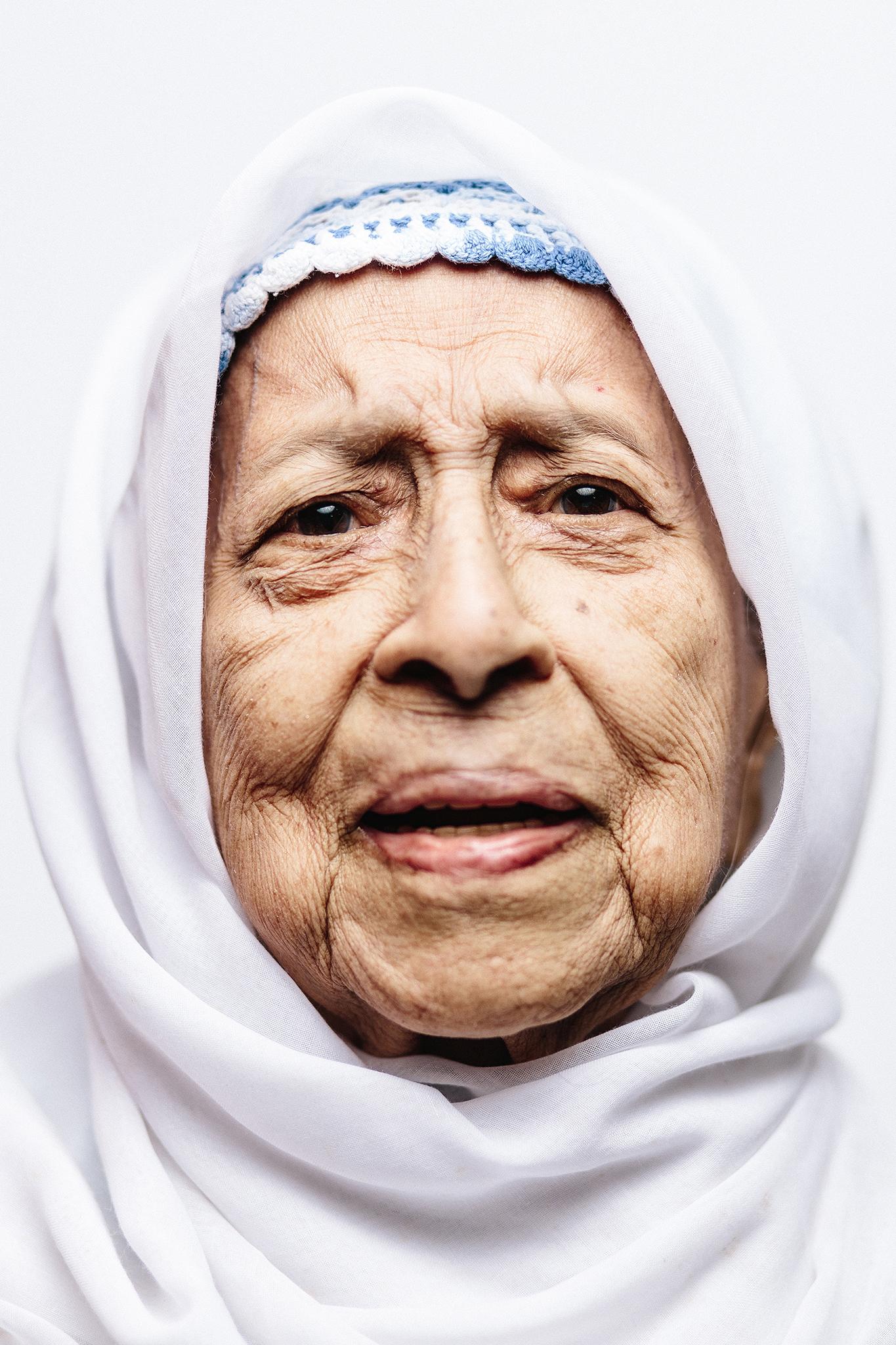 Bulkis Yahya - Singapore Centenarian. SG 100.