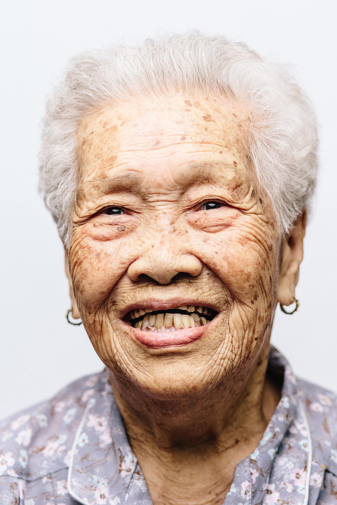 Tan Swan Eng - Singapore Centenarian. SG 100.