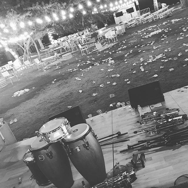 end of the night.... Thank you backyard, it was fantastic!  #thebackyarddoha #grooveoffice #qatarnightlife #dohanightlife