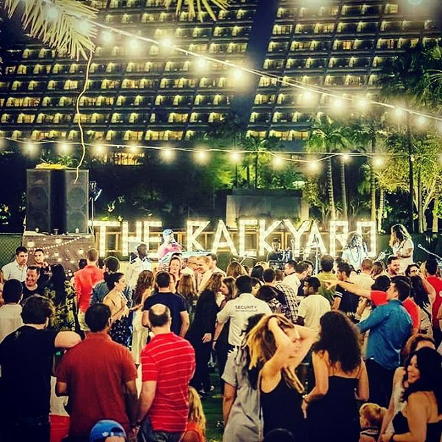 It's been pretty much 5 months since we played @thebackyarddoha ... this friday we're back!  Who's gonna join us?  #dohanightlife #thebackyard #grooveoffice #qatarnightlife