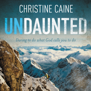Yesterday we started the Undaunted Bible study in our lunchtime group.