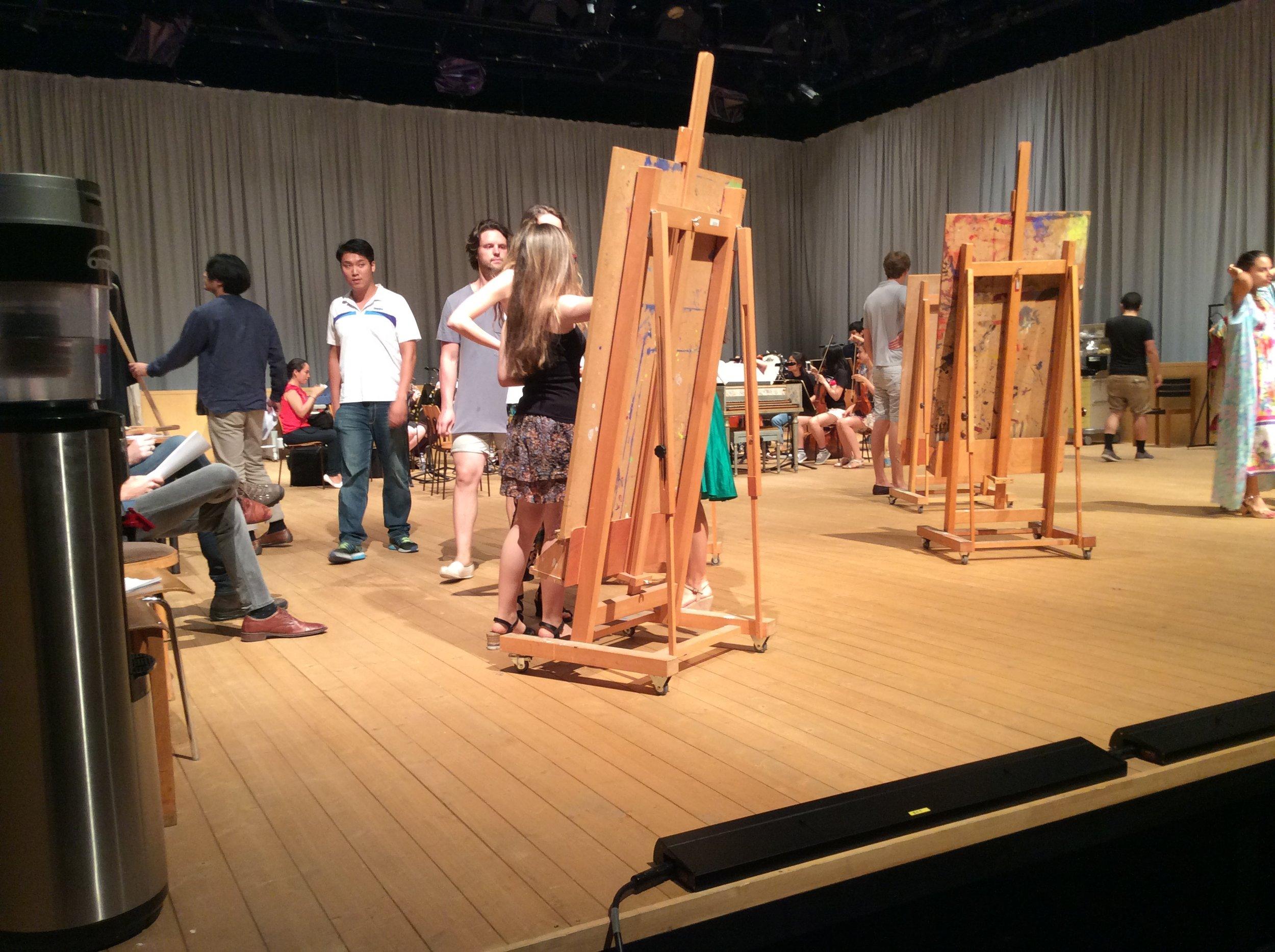 Rehearsal for Orlando Paladino