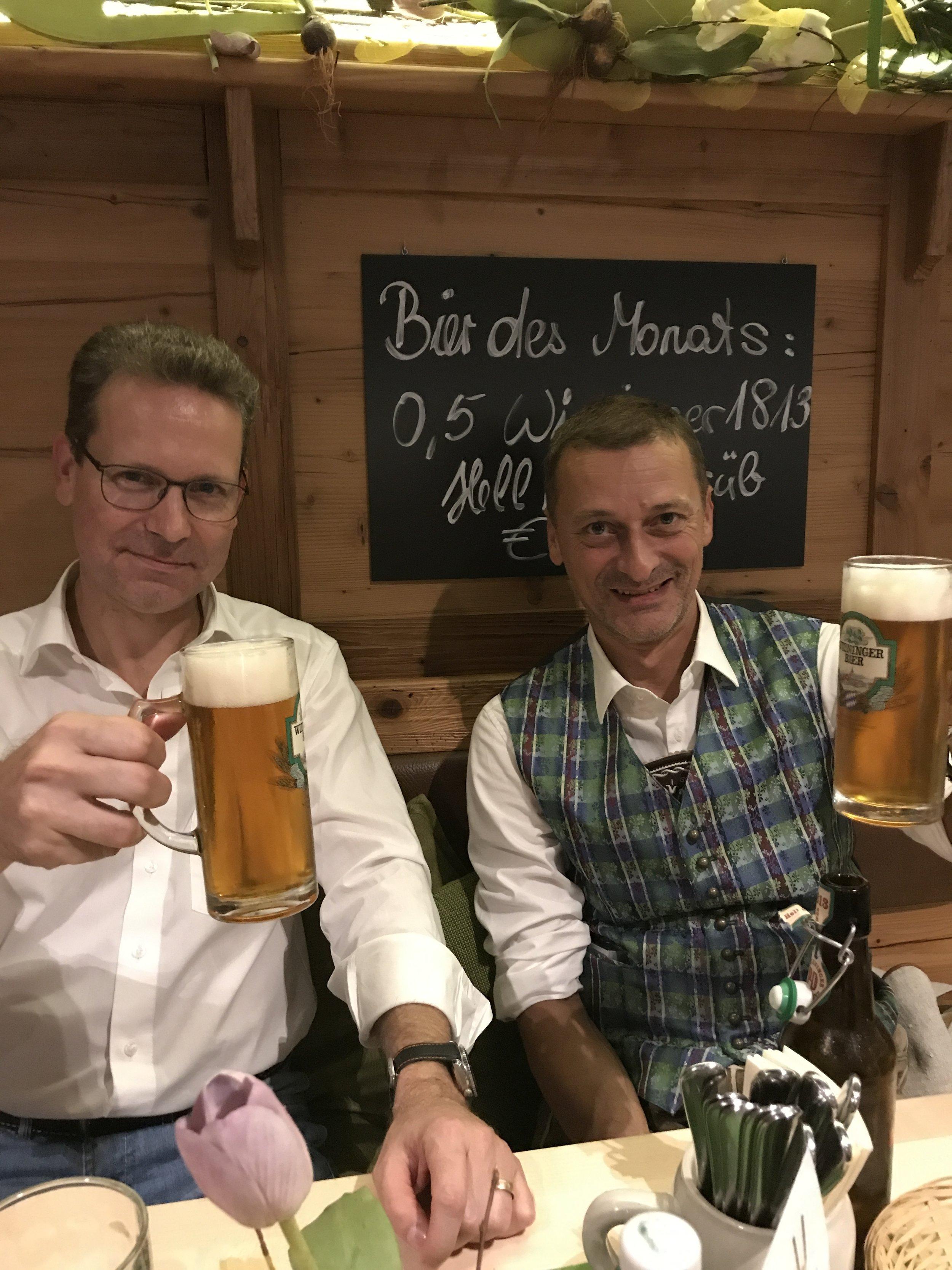 Wolfgang Vladar and Lars Stransky of Vienna Philharmonic