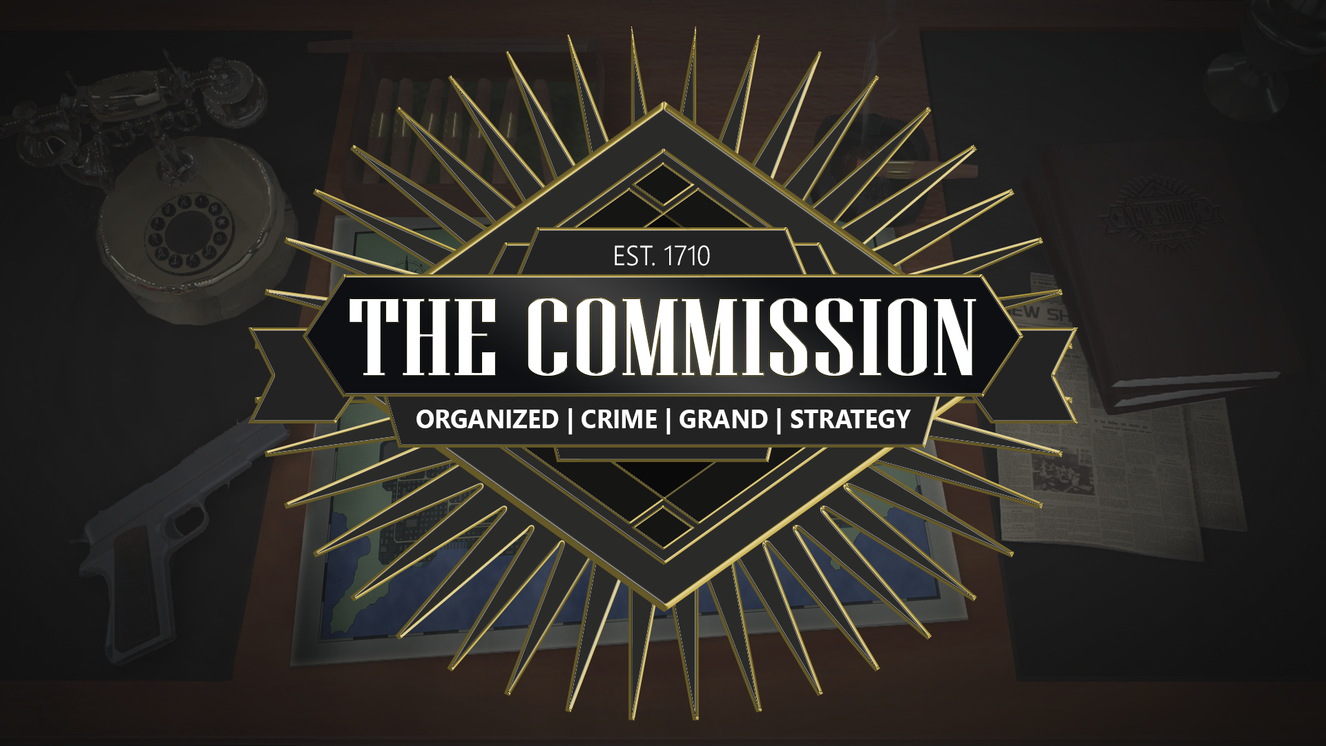 The Commission: Organized Crime, developed entirely by 302 Interactive for our client Two-Thirty Am Studios. Play as a Don of a mafia family and fight other families for control over the city of New Shore.