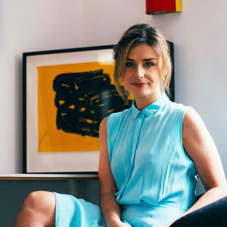 Niamh White. Curator.  image credit: Vicky Grout