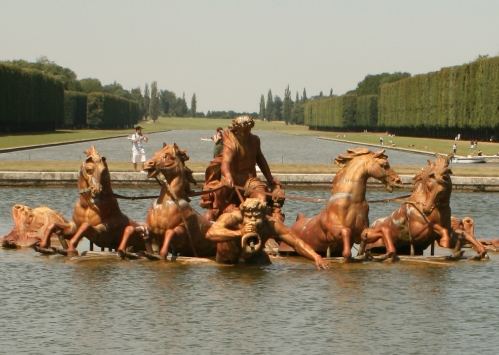 Apollo at the Grand Canal Versailles