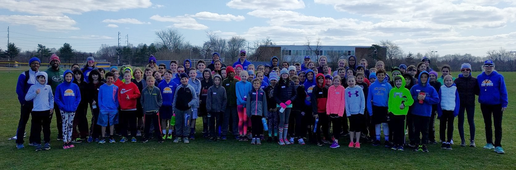 Northport Running Club Youth Track and Field Program, coached by Vicki Fox, Pat Viola and assistant coaches from Adelphi University.