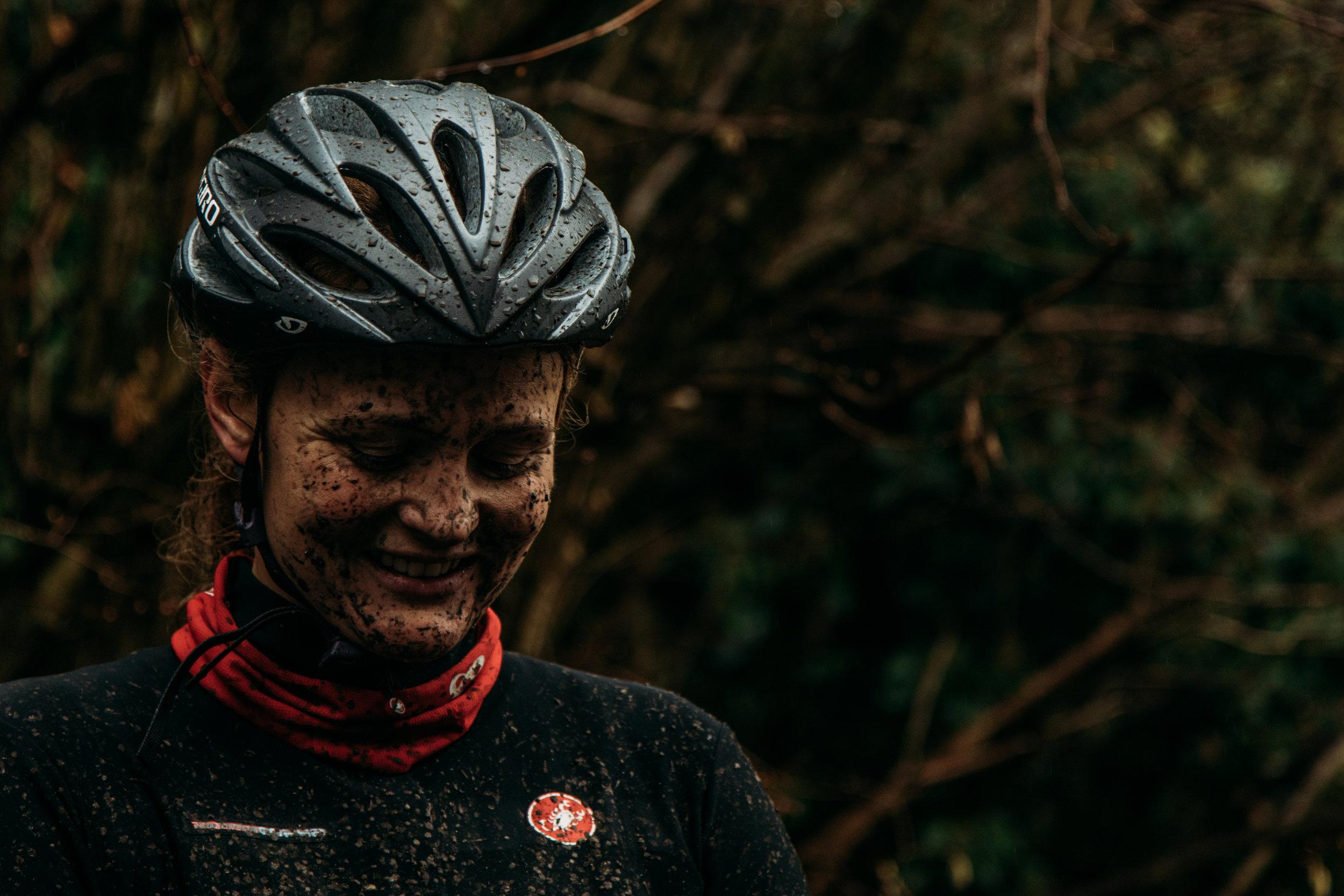 Muddy but happy