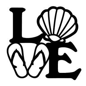 S11   Love (Flipflops & Shells)