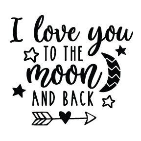S9   Love you to the Moon and Back