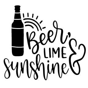 S27   Beer Lime & Sunshine